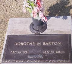 Dorothy Fields Barton (1921-2003) - Find A Grave Memorial