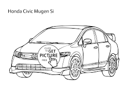 Small Picture car Honda Civic coloring page cool car printable free