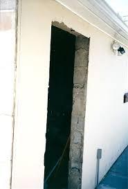 installing a pre hung exterior door