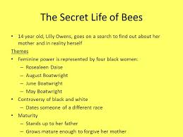 the secret life of bees the color purple and the bell jar ppt 3 the secret life of bees