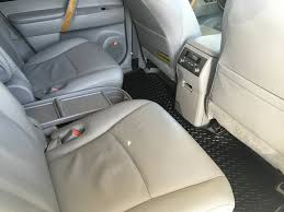 white blizzard pearl 2009 toyota highlander hybrid limited left side rear seat photo in