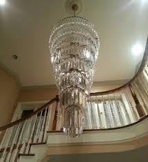 crystal foyer chandelier foyer crystal chandelier modern crystal chandelier bronze and dresser in foyer