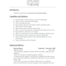 Dishwasher Job Description Awesome Sample Resume For Kitchen Helper Socialumco