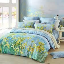 beautiful light blue gold yellow and