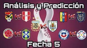 Eliminatorias 2022 qatar fifa 21 apr 23, 2021. Analisis Y Prediccion Fecha 5 De Las Eliminatorias Sudamericanas Rumbo A Qatar 2022 Youtube
