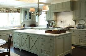 Rustic Color Schemes Rustic Looking Kitchens Dark Brown Painted Cherry Island Stainless