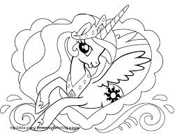 My Little Pony Coloring Pages Princess Luna And Celestia Page