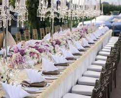 decorations for wedding tables. Formal Wedding Table Decorations - Masterclass For Tables G