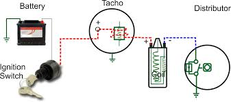 tachometer wiring tachometer electronics tachometer wiring diagram 1979 corvette rvi tachometer with coil and points