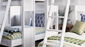 This stylish spin on the classic bunk bed is more sculptural, yet sturdy  and compact