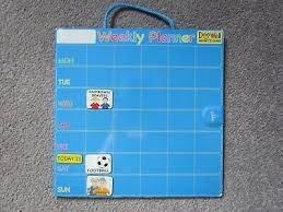 Doowell Activity Charts Doowell Magnetic Activity Chart Weekly Planner For