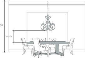 correct height to hang pictures height to hang art bottom of the chandelier should hang between correct height to hang