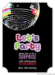 Childrens Disco Invitations Disco Party Invitations Major Magdalene Project Org