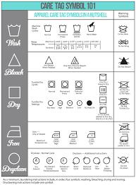 Care Tag Symbol 101 Laundry Care Symbols Laundry Symbols