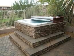 hot tub surrounds spa surround lighting options enclosure diy hot tub surrounds