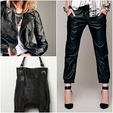 vegan leather clothing bag leggings jacket
