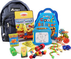 The Pack - Travel Toys, Puzzles and Games for 3 to 5 year old boys Year Old Boys is a child sized backpack fully