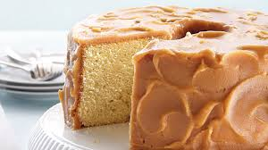Caramel Frosted Pound Cake Recipe Bettycrockercom