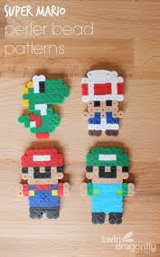 Perler Bead Patterns Simple Mario Perler Bead Patterns Dragonfly Designs