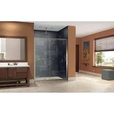home dreamline infinity z 56 to 60 inch frameless sliding shower door
