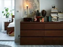 bedroom chest of drawers. Plain Drawers A Medium Brown MALM 6drawer Dresser On Bedroom Chest Of Drawers C