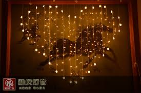 heart led flash lamps wedding marriage room decorate creative gift