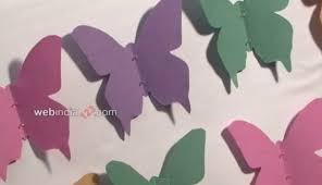 Butterfly Board How To Make Butterfly Board Craft