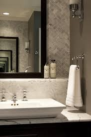 traditional bathroom lighting ideas white free standin. Chicago Hand Towel Holder Bathroom Traditional With Ledge Sink Faucets Marble Countertops Lighting Ideas White Free Standin R