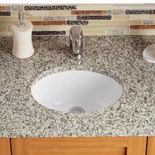 oval undermount bathroom sinks. Exellent Undermount Vitreous China Oval Undermount Bathroom Sink With Overflow To Sinks 1