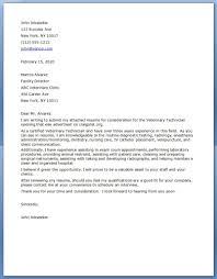 Veterinarian Resume Resume Cover Letter Zoo Best Font To Use For Resume Vet Tech Cover 92