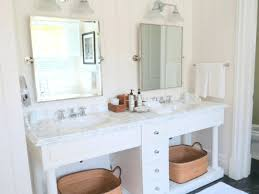 pottery barn vanity table desk mirrored tray bathroom lighting26