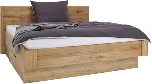 Bett In Eichefarben Ca 180x200cm Online Kaufen Mömax