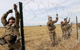 us army sending the us army to the border creates a war atmosphere