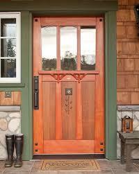 mission style front doorBest 25 Craftsman front doors ideas on Pinterest  Craftsman