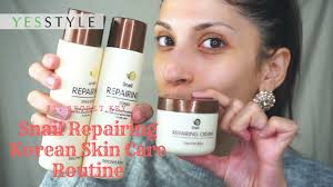 <b>Snail Repairing</b> Korean <b>Skin Care</b> Routine | Secret Key | YesStyle ...