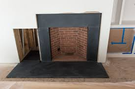 black stone fireplace surround full image for wonderful slate tile best images about
