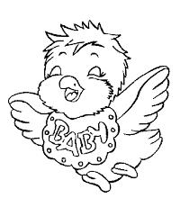 Uccelli Da Colorare Per Bambini Con Uccelli 1 Disegni Per Bambini Da