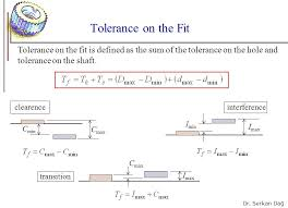 Hole And Shaft Tolerance Chart 1 Chapter Tolerances And Fits Ppt Video Online Download
