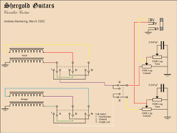 shergold guitars models produced circuit diagrams
