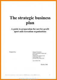 7 Brilliant Sample Business Plan Title Page Pictures Usa