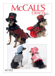 Dog Costume Patterns Amazing MCCALLS CRAFTS 48 DOG CLOTHES HALLOWEEN STEAMPUNK PET COSTUME