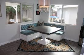 image of corner banquette seating