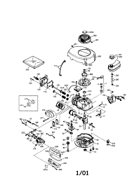 Tecumseh lawn mower engine diagram tecumseh engine parts model lev80 333016b sears partsdirect