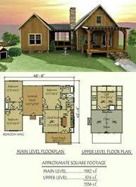 4 Bedroom Log Cabin Floor Plans