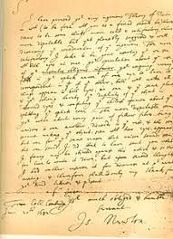 isaac newton  facsimile of a 1682 letter from isaac newton to dr william briggs commenting on briggs a new theory of vision