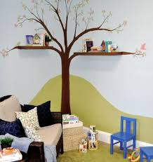 in the playroom view in gallery contemporary playroom featuring a tree wall decal