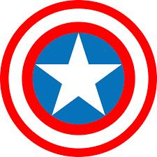 Logo Captain America Marvel · Kostenlose Vektorgrafik auf Pixabay