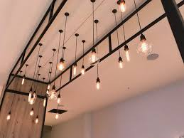 hudson coffee lighting fit out