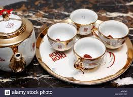 Stock asian tea cups