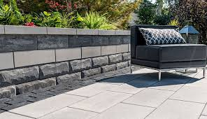 unilock retaining walls unilock offers a unique look in the retaining wall world introducing